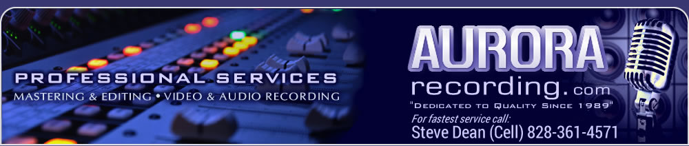 Professional audio/video recording & mastering Services